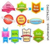 easy to edit vector... | Shutterstock .eps vector #127992992