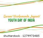 illustration of celebrate swami ... | Shutterstock .eps vector #1279973485
