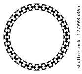 islamic geometric figures... | Shutterstock .eps vector #1279985365