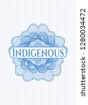 light blue money style emblem... | Shutterstock .eps vector #1280034472