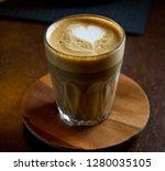 coffee spanish latte | Shutterstock . vector #1280035105