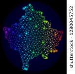 glossy spectrum mesh vector map ...   Shutterstock .eps vector #1280045752