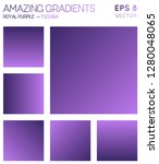 colorful gradients in royal... | Shutterstock .eps vector #1280048065