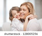 bright picture of hugging...   Shutterstock . vector #128005256