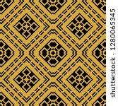 abstract seamless retro art... | Shutterstock .eps vector #1280065345