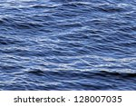 Surface Of The Water With Small ...
