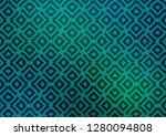 light blue  green vector... | Shutterstock .eps vector #1280094808