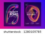electronic party. digital... | Shutterstock .eps vector #1280105785