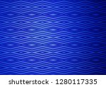 light blue vector texture with... | Shutterstock .eps vector #1280117335