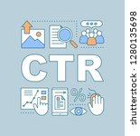 ctr word concepts banner. click ...