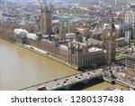 london sundown panorama view   Shutterstock . vector #1280137438