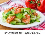 Green Salad With Shrimp And...