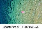 aerial bird's eye view photo... | Shutterstock . vector #1280159068