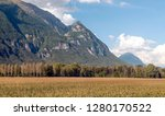 mountains in the alps of france ... | Shutterstock . vector #1280170522