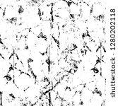 rough grunge pattern design.... | Shutterstock .eps vector #1280202118