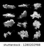 Cloud Black Ba Ckground - Fine Art prints