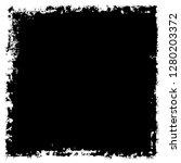 grunge black and white vector...   Shutterstock .eps vector #1280203372