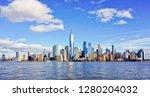 panoramic view of beautiful... | Shutterstock . vector #1280204032