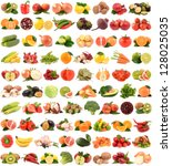 fruits and vegetables | Shutterstock . vector #128025035