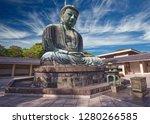 great buddha statue in kamakura ...   Shutterstock . vector #1280266585