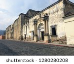 old  decaying colonial... | Shutterstock . vector #1280280208