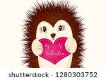 valentine's day romantic gift... | Shutterstock .eps vector #1280303752