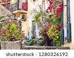 greek village at the island of... | Shutterstock . vector #1280326192