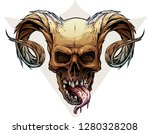 detailed graphic realistic... | Shutterstock .eps vector #1280328208