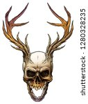 detailed graphic realistic... | Shutterstock .eps vector #1280328235