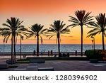 almeria  spain. circa january... | Shutterstock . vector #1280396902