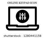 controller search icon....   Shutterstock .eps vector #1280441158