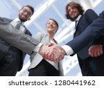 business handshake.the concept... | Shutterstock . vector #1280441962