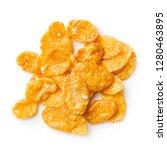 breakfast cereals or cornflakes ... | Shutterstock . vector #1280463895