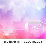 abstract creative concept... | Shutterstock .eps vector #1280482225