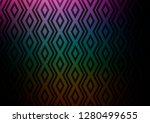 dark multicolor  rainbow vector ... | Shutterstock .eps vector #1280499655