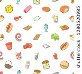various images set. background... | Shutterstock .eps vector #1280520985