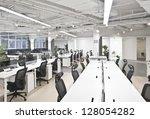 office work place | Shutterstock . vector #128054282