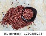 nutritious red beans | Shutterstock . vector #1280555275