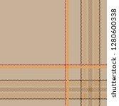 tartan plaid seamless pattern...   Shutterstock .eps vector #1280600338