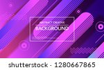 minimal geometric background... | Shutterstock .eps vector #1280667865