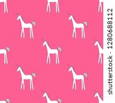 vector seamless pattern with... | Shutterstock .eps vector #1280688112