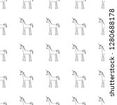 vector seamless pattern with... | Shutterstock .eps vector #1280688178