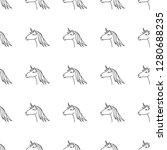 vector seamless pattern with... | Shutterstock .eps vector #1280688235