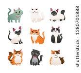 a cartoon vector illustration...   Shutterstock .eps vector #1280701888