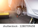 professional near the car... | Shutterstock . vector #1280709658