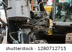 close up of pipe system of... | Shutterstock . vector #1280712715