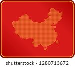 map of china | Shutterstock .eps vector #1280713672