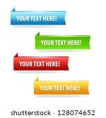 sale banners. vector | Shutterstock .eps vector #128074652