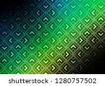 dark blue  green vector texture ... | Shutterstock .eps vector #1280757502