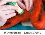 master class of repairing... | Shutterstock . vector #1280767042